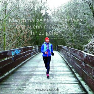 Mindful Moment - Laufmotivation - Weg